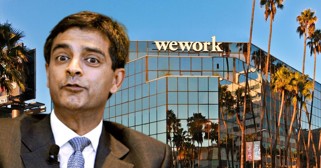 Sandeep Mathrani wework ceo