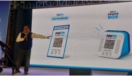 Paytm Launches QR Code Machine That Announces When A Payment Has Been Received