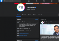 Facebook Rolls Out New Layout With A Dark Mode Option, Bigger Icons, Less Blue And More Focus On Covid19