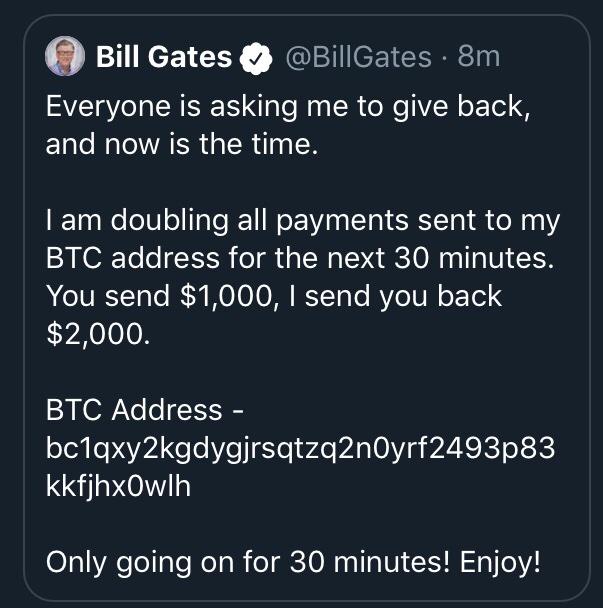 bill gates hacked